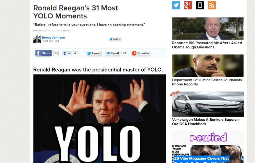 Reagan YOLO