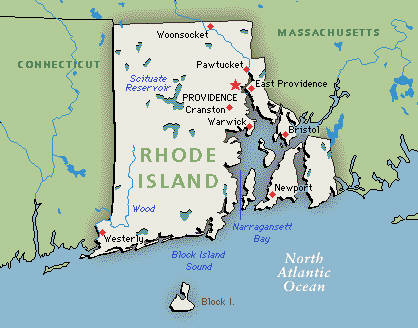 "Rhode Island: Also the ""Gansta's Paradise"" mentioned by Coolio"