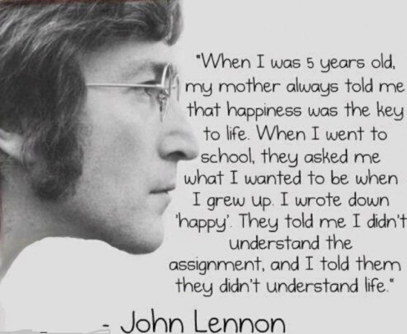Hard, Deep Thoughts Friday: John Lennon